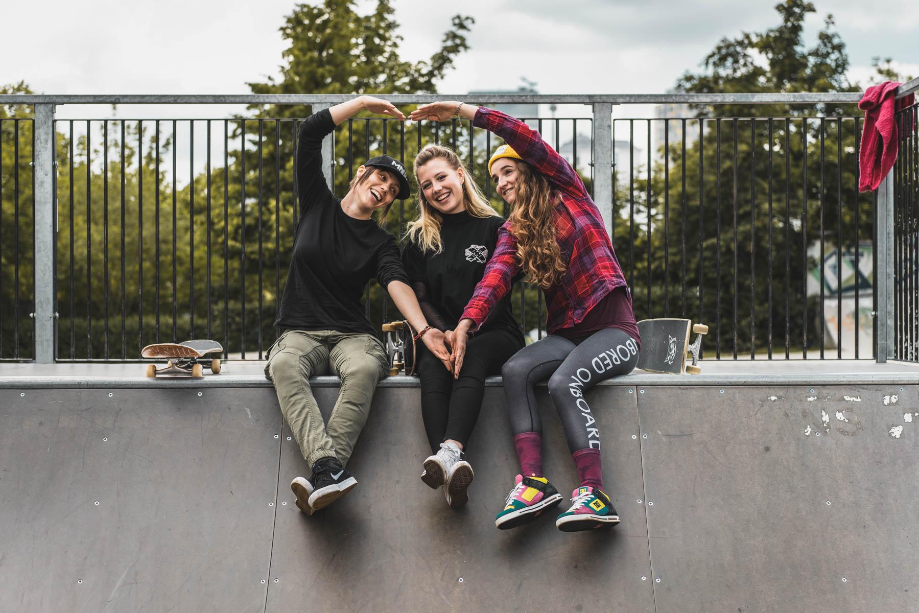 Liebe auf den ersten Blick für einander und für's Board. – ©wunderland media GmbH