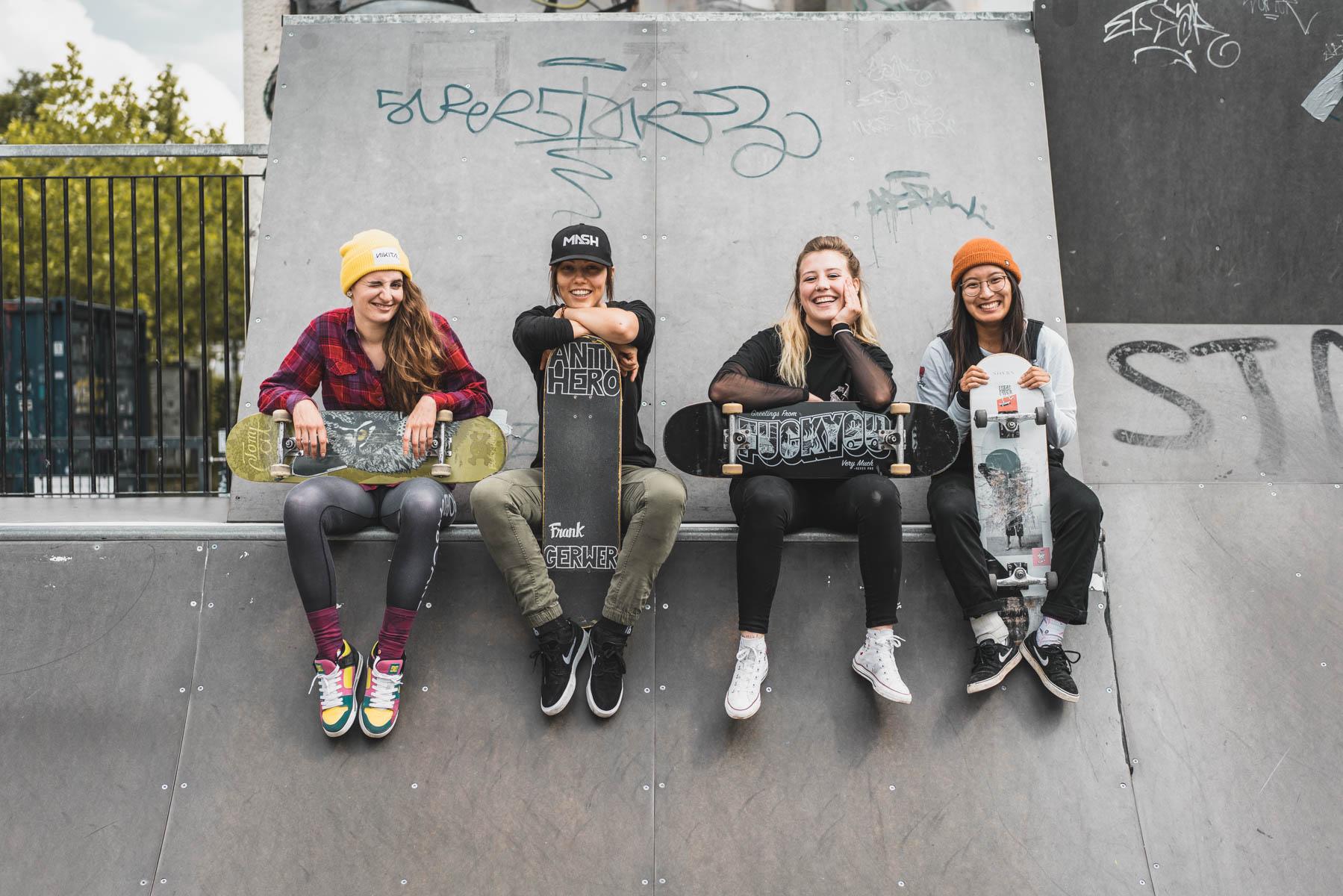 Die Strategie der Skatehoes? Sensibilisieren mit Humor! – ©wunderland media GmbH