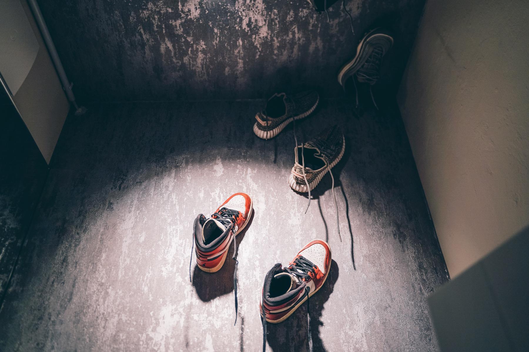 Hidden Shoe Treasures –selbst auf der Toilette. – ©wunderland media GmbH