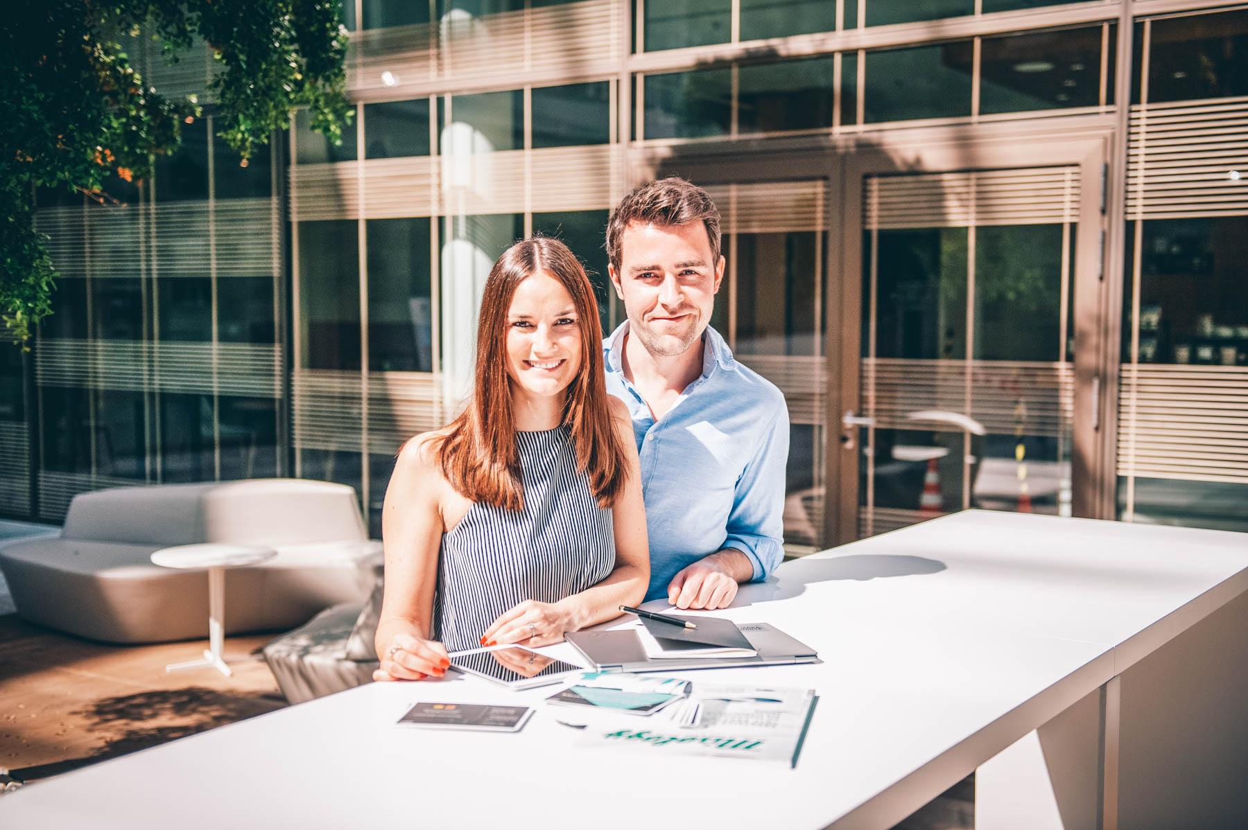 Gründerpaar Stefanie und Sebastian – ©Tierra Monte