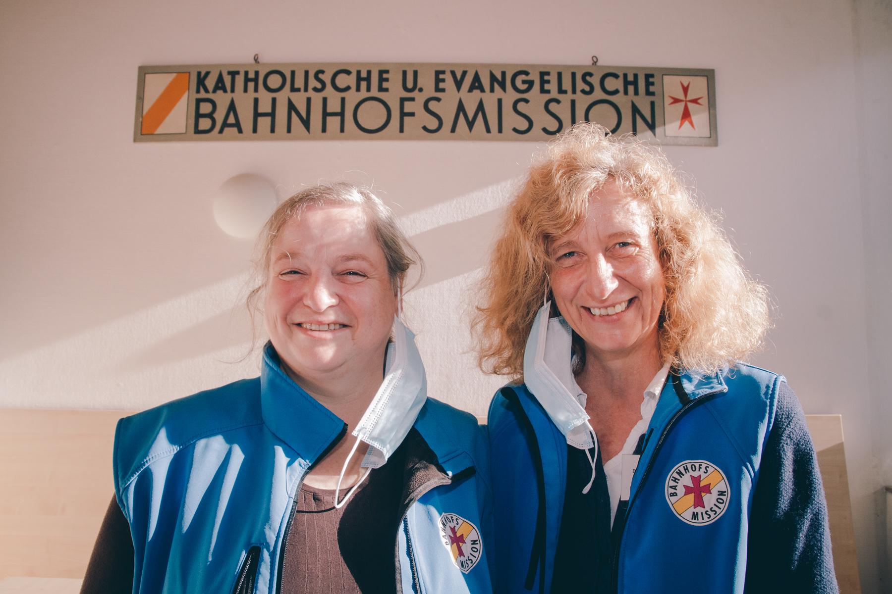 Mit Herz bei der Sache: Die Leiterinnen Barbara und Bettina. – ©wunderland media GmbH