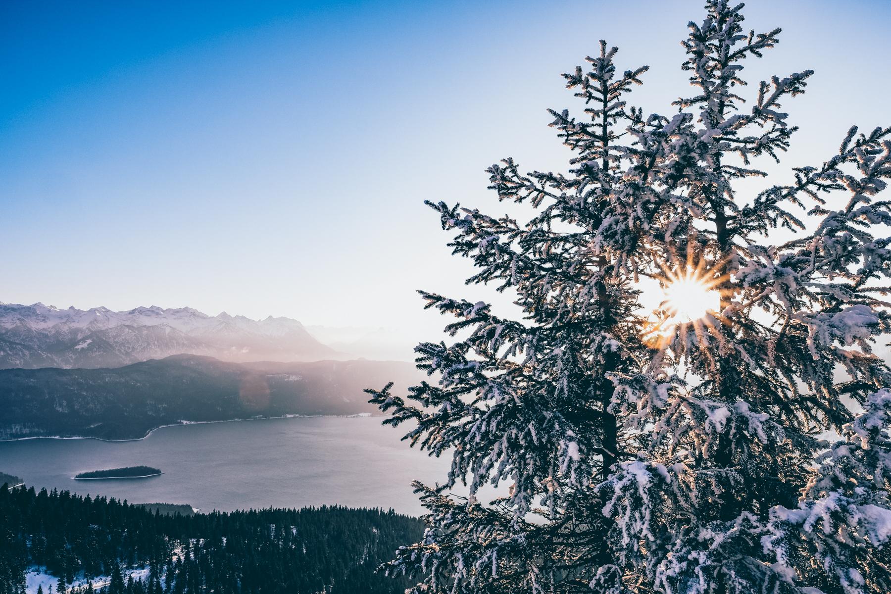 Beeindruckendes Farbspektakel auf dem Weg nach oben.  – ©Well Outside