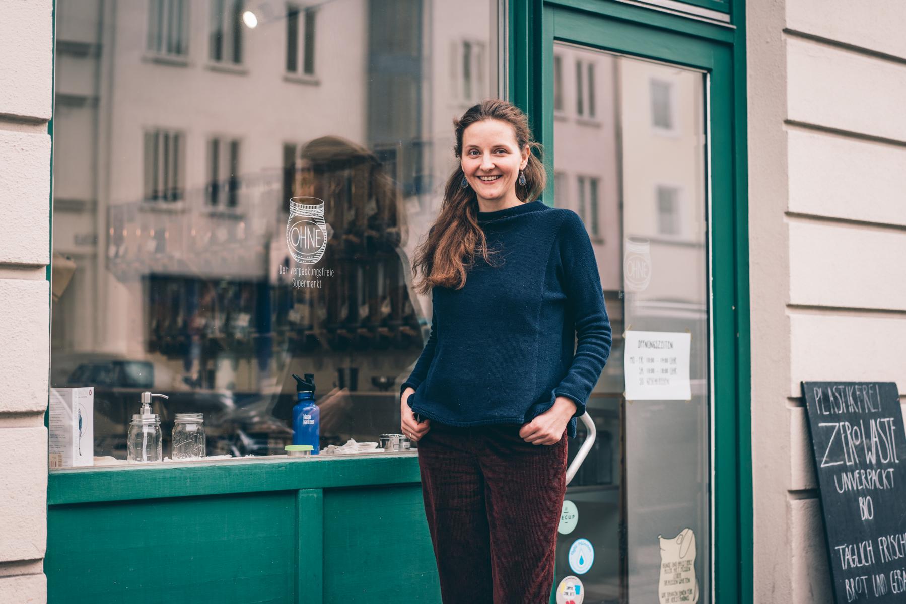 """Fotografie für den Lade """"Ohne"""" in der Rosenheimerstraße"""