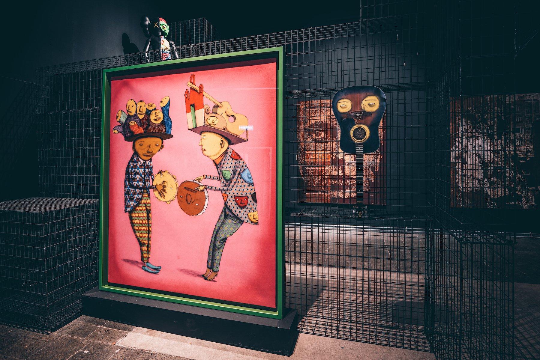 Kunstschau der Extraklasse: Die bedeutendsten Künstler der Street Art Szene sind vertreten.  – ©wunderland media GmbH