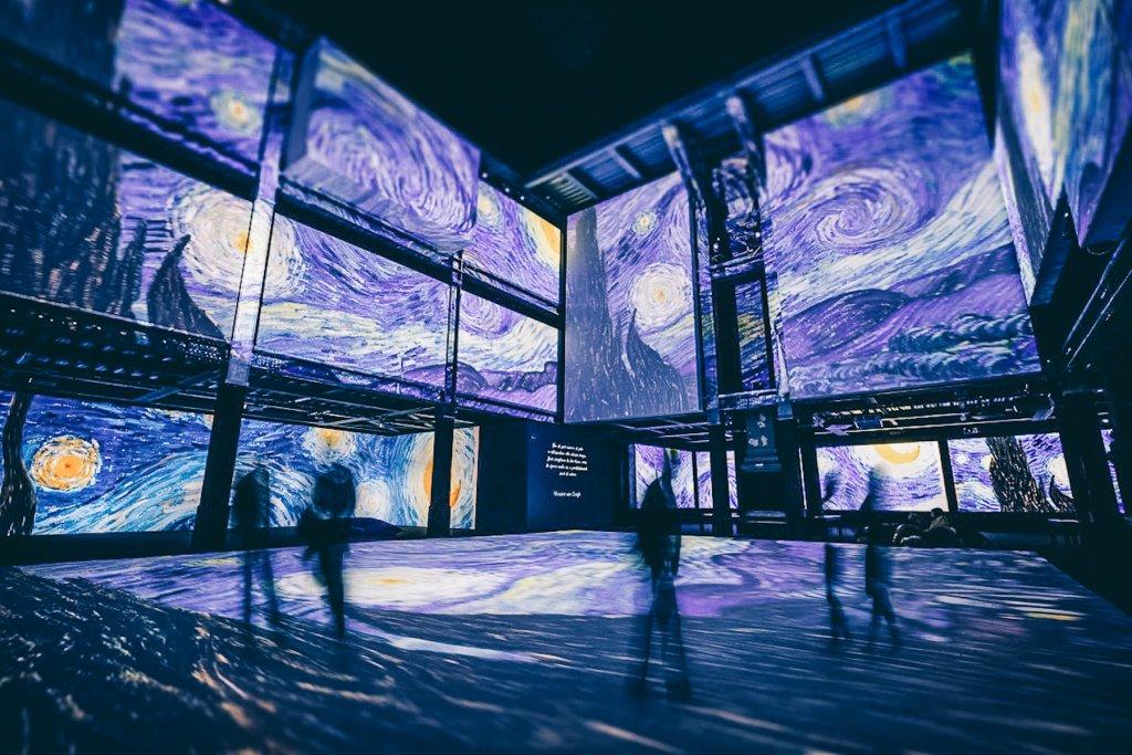 Geheimtipp Muenchen Van Gogh Alive Utopia Event – ©Van Gogh Alive in Rom ©Grande Exhibitions