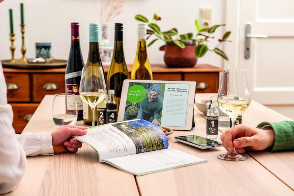 Dwi Vwt Online Verkostung Szene 06 Cmyk – ©Deutsches Weininstitut (DWI)