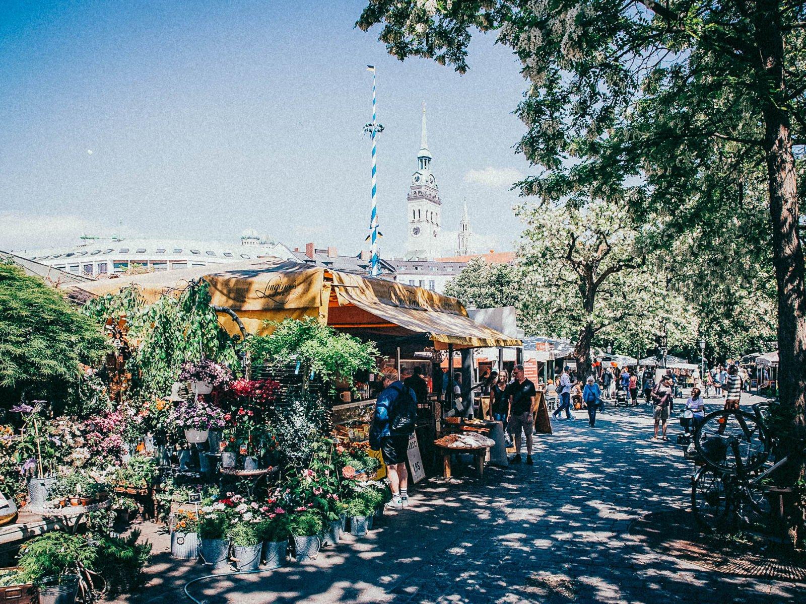 Geheimtippmuenchen Einewochevollerideen Kletterwald Viktualienmarkt – ©wunderland media GmbH